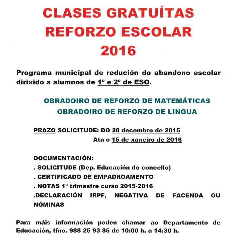 AVISO-CLASES-REFORZO-2015-2016-2