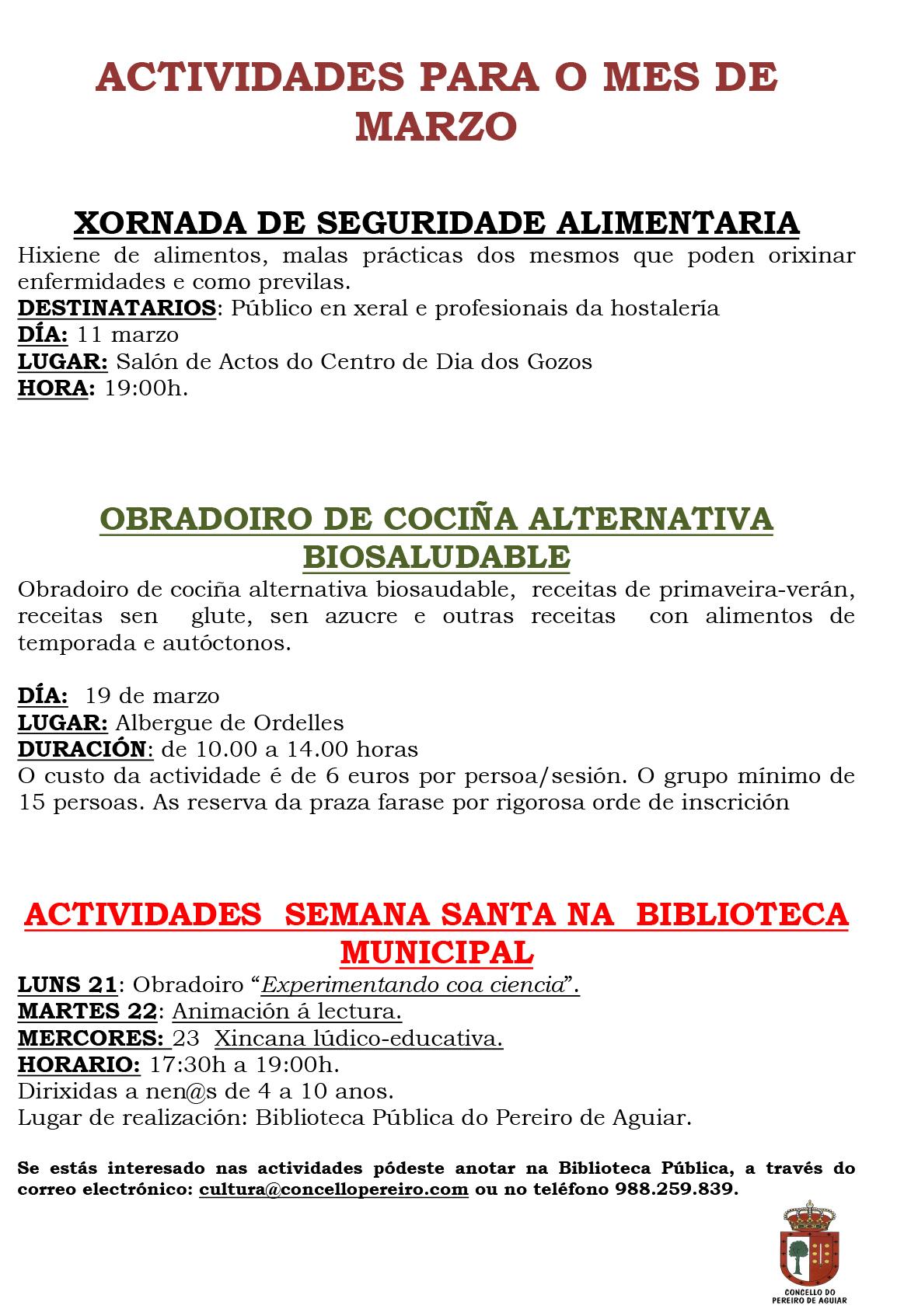 Microsoft Word - BANDO ACTIVIDADES MES DE MARZO _1_.doc